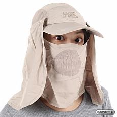 抗UV遮陽休閒帽(臉/肩頸部防曬設計)