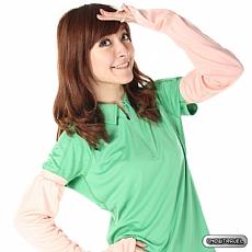 冰涼抗UV防曬遮指袖套