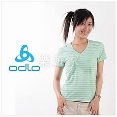 Odlo 短袖V領排汗T恤(女)