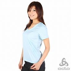 抗UV印花短袖上衣(女)