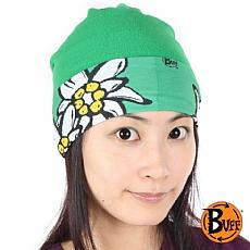 大花物語-綠Polar頭巾