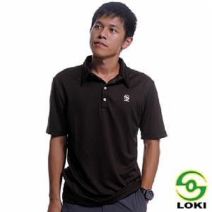 男 Vana 抗UV短袖排汗POLO衫