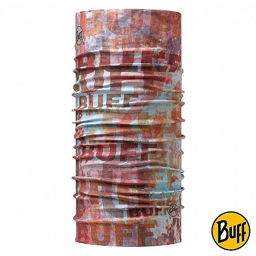 鏽蝕拓印 頭巾