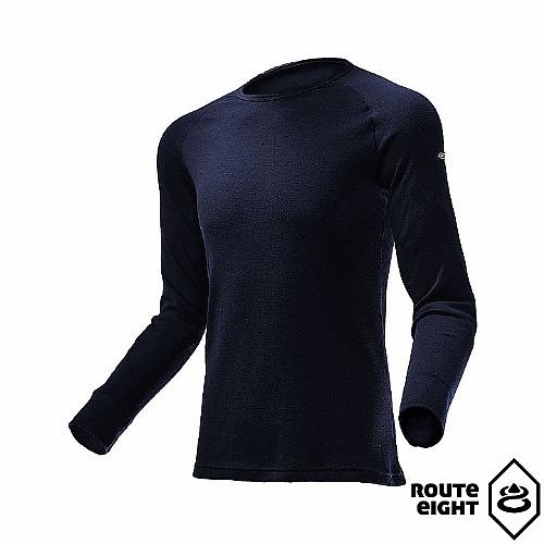 男 WARM 圓領保暖衣(拉格蘭袖)