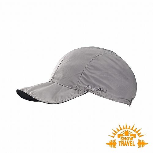 抗UV吸濕排汗超輕雙面鴨舌帽(附收納袋)