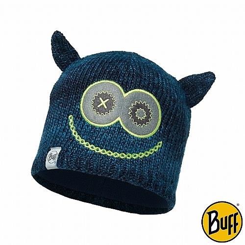 藍色怪獸 兒童Polar針織保暖帽