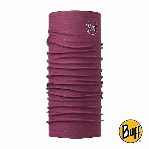 莓紅紫鑽 經典頭巾