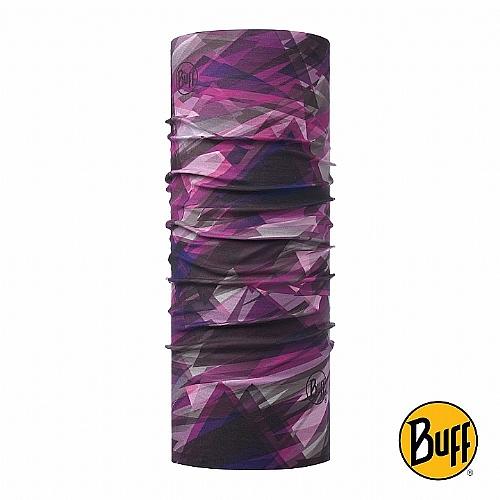 莓紫稜線 SLIM頭巾
