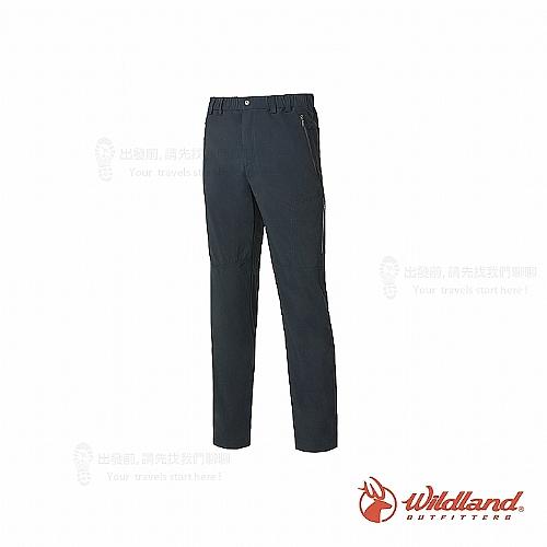 男彈性輕薄抗UV長褲