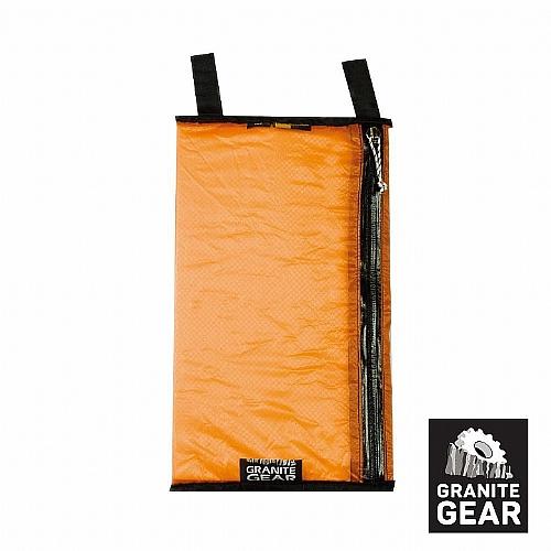 Granite gear - 防潑水拉鍊收納袋AIR POCKET / 橘色