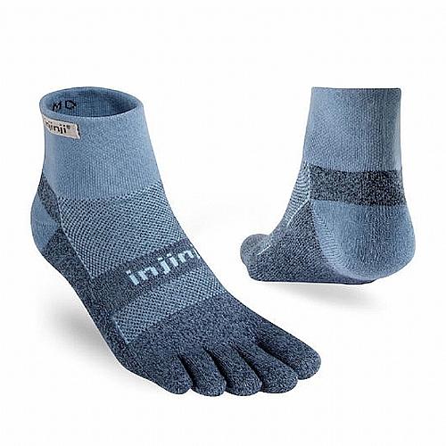 TRAIL 野跑避震吸排五趾短襪