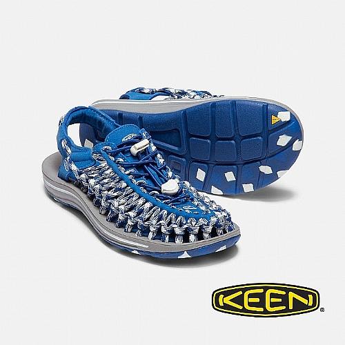 女 UNEEK FLAT 護趾涼鞋(扁平織帶)