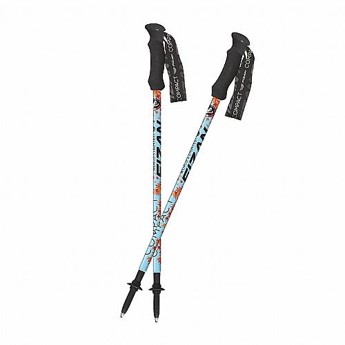 超輕四節式健行登山杖(2入)