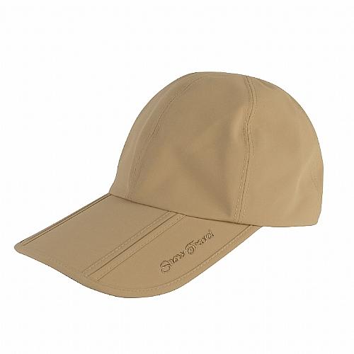 防水透氣棒球三折帽