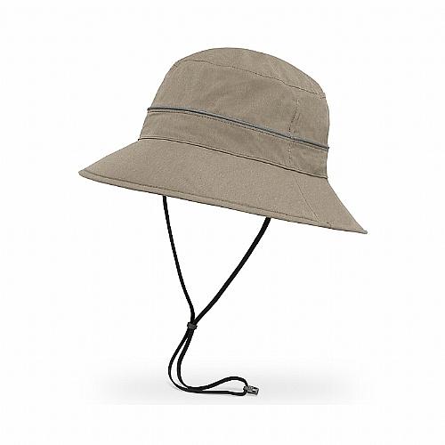 抗UV防水透氣圓桶帽