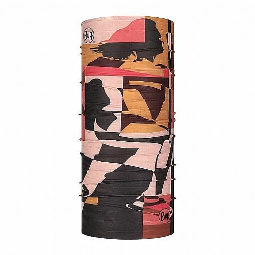Coolnet抗UV頭巾-復古拼貼(女)