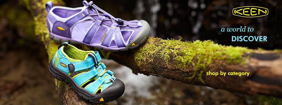 美國KEEN戶外護趾涼鞋,愛玩不怕踢鐵板